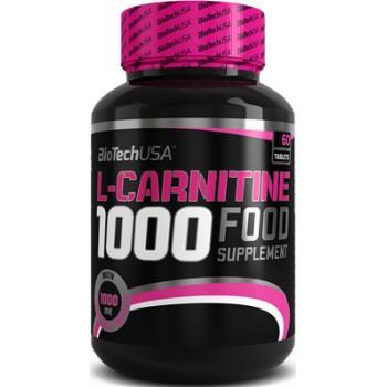 BioTech L-Carnitine 1000 мг 60 таблеток